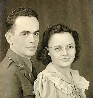 Keith & Margie Harris, married April 18, 1941